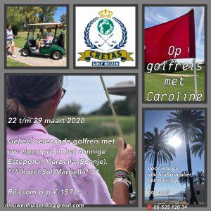 Golfreis Caroline Estepona, Marbella